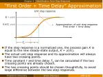 first order time delay approximation1