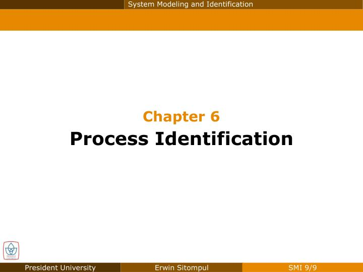 System Modeling and Identification