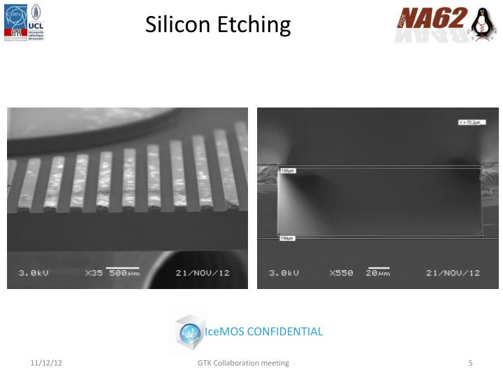 Silicon Etching