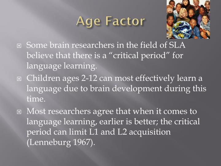 Age Factor