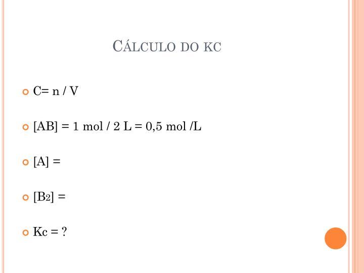 Cálculo do