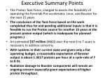 executive summary points