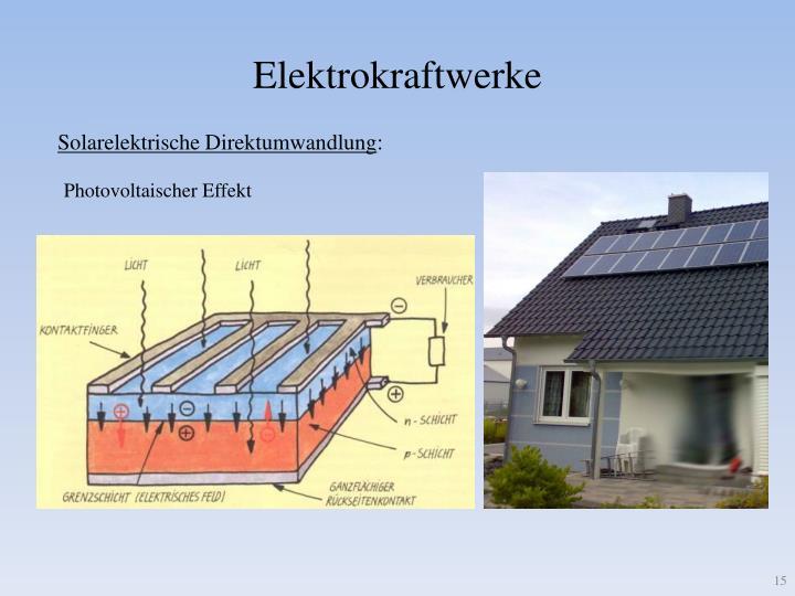 Elektrokraftwerke