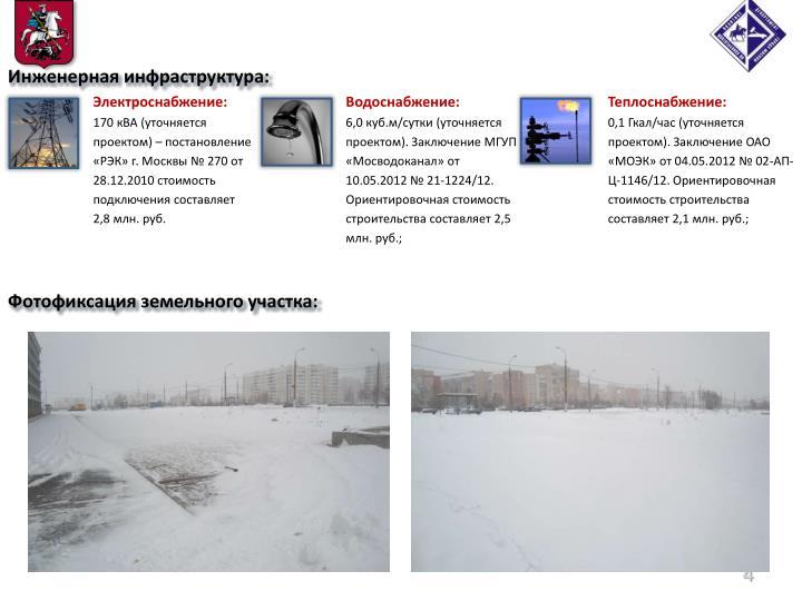 Фотофиксация земельного участка: