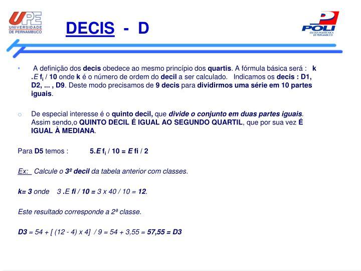 DECIS