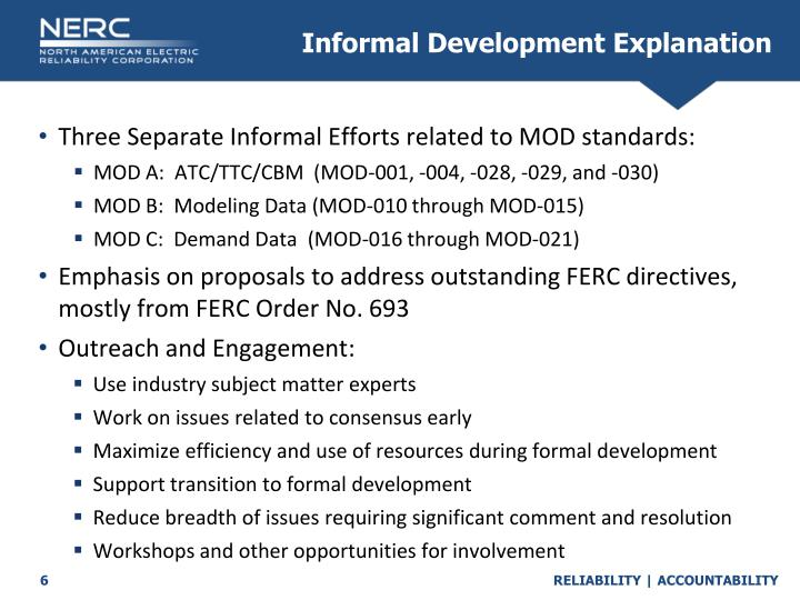 Informal Development Explanation