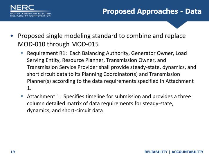 Proposed Approaches - Data
