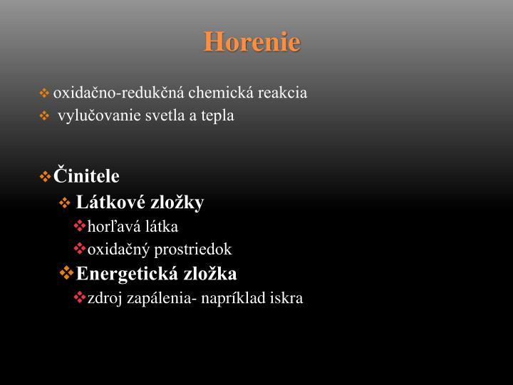 oxidačno-redukčná chemická reakcia