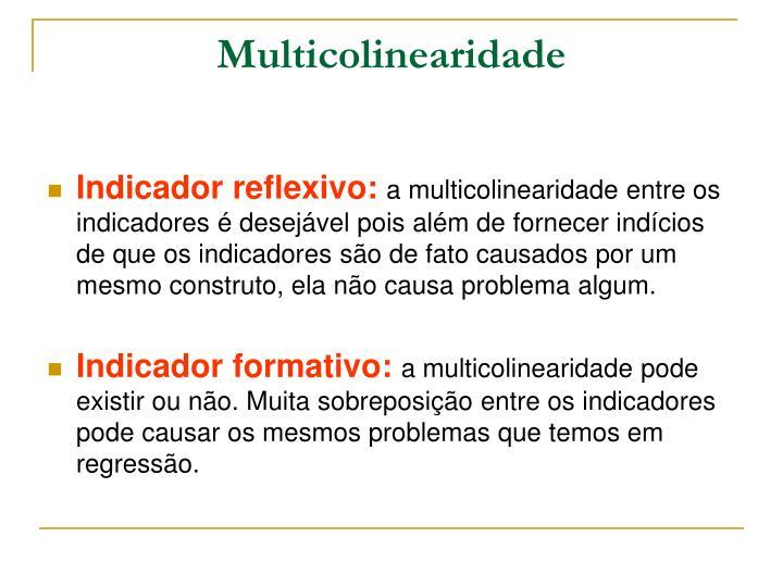 Multicolinearidade