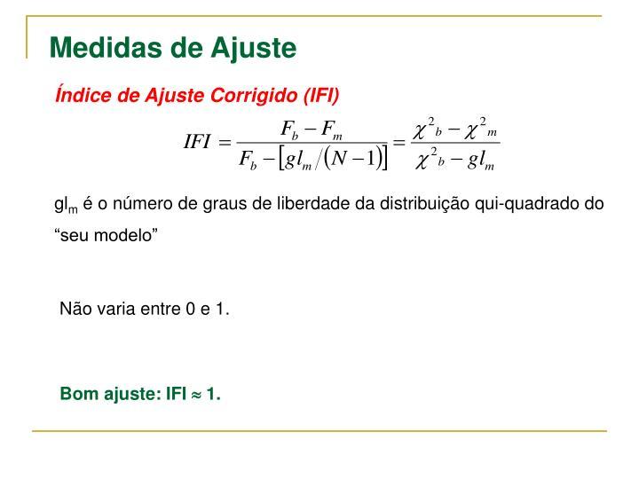 Índice de Ajuste Corrigido (IFI)