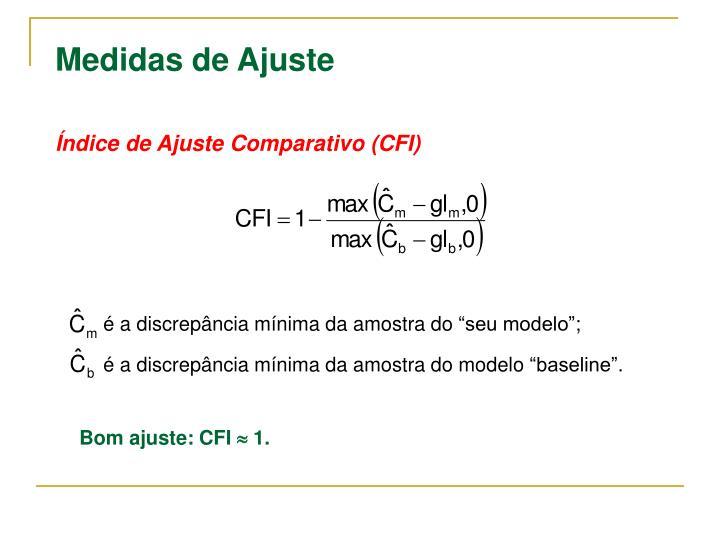 Índice de Ajuste Comparativo (CFI)