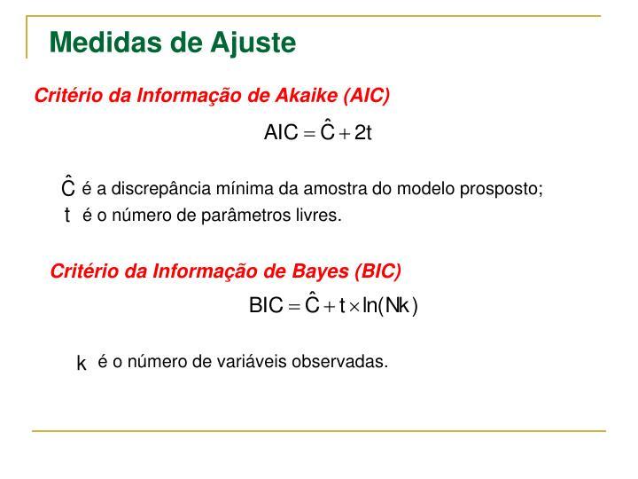 Critério da Informação de Akaike (AIC)