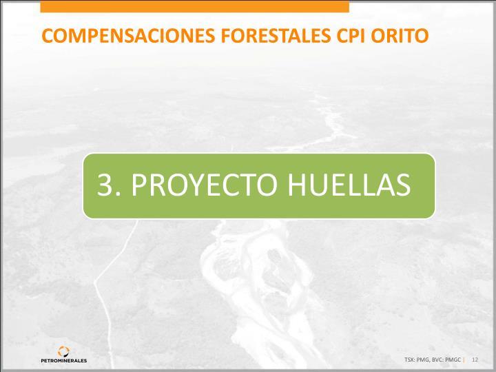 COMPENSACIONES FORESTALES CPI ORITO