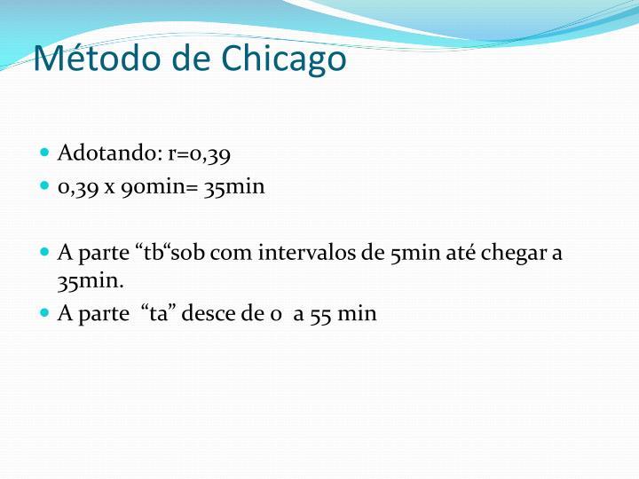 Método de Chicago
