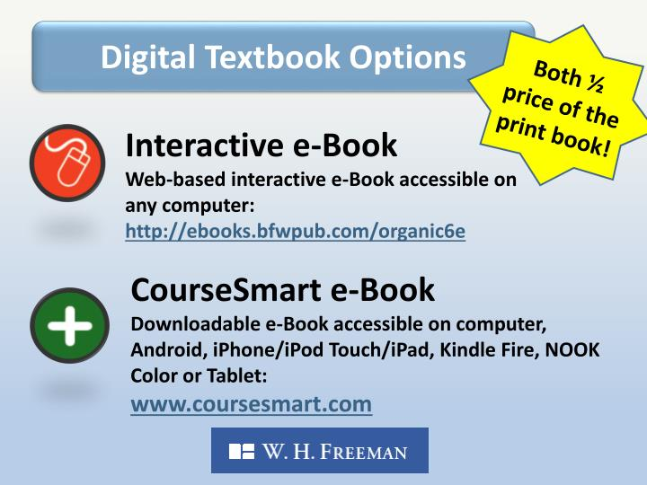Digital Textbook Options