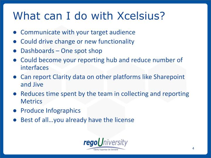 What can I do with Xcelsius?