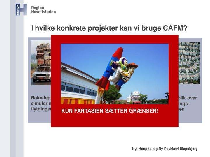 I hvilke konkrete projekter kan vi bruge CAFM?