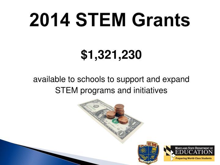 2014 STEM Grants