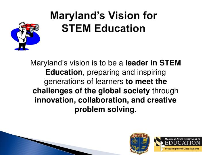 Maryland's Vision for