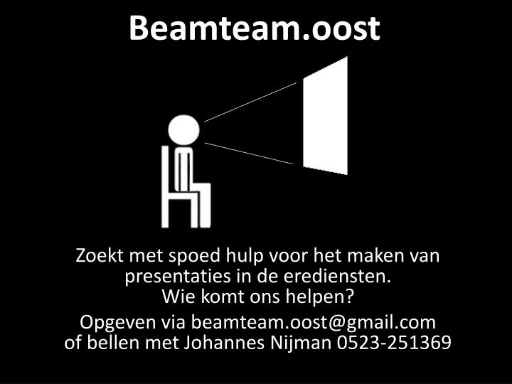 Beamteam oost