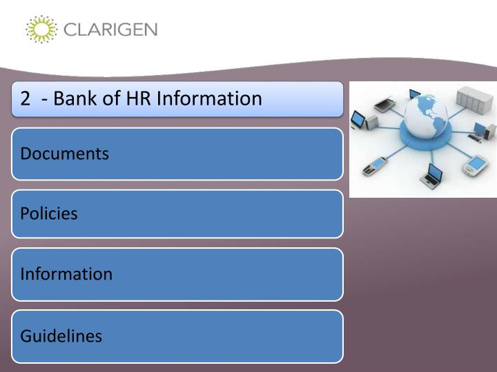 2  - Bank of HR Information