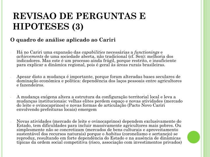 REVISAO DE PERGUNTAS E HIPOTESES (3)