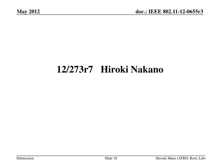 12/273r7Hiroki Nakano