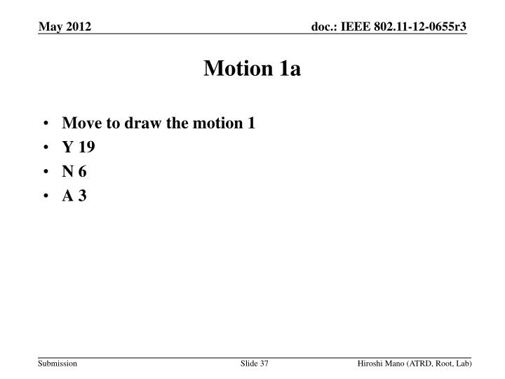 Motion 1a