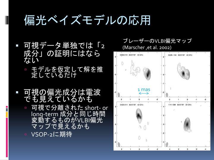 偏光ベイズモデルの応用