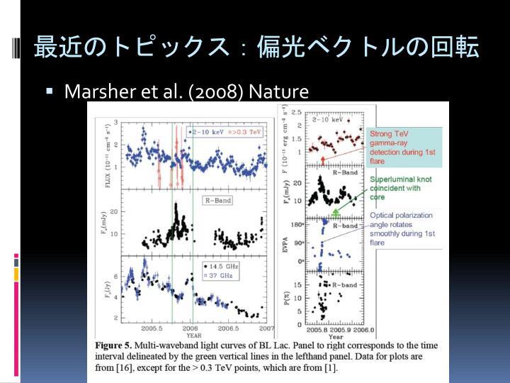 最近のトピックス:偏光ベクトルの回転