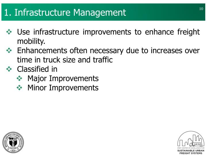 1. Infrastructure Management