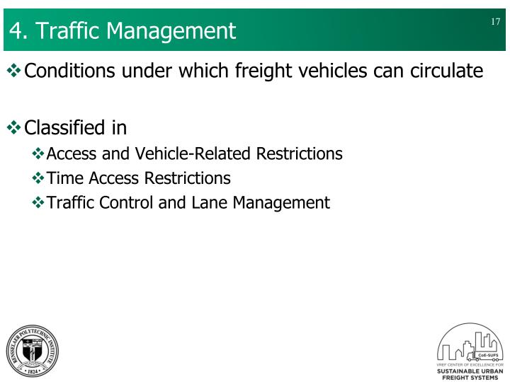 4. Traffic Management