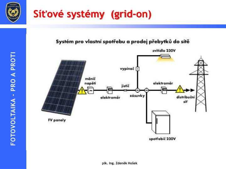 Síťové systémy  (grid-on)