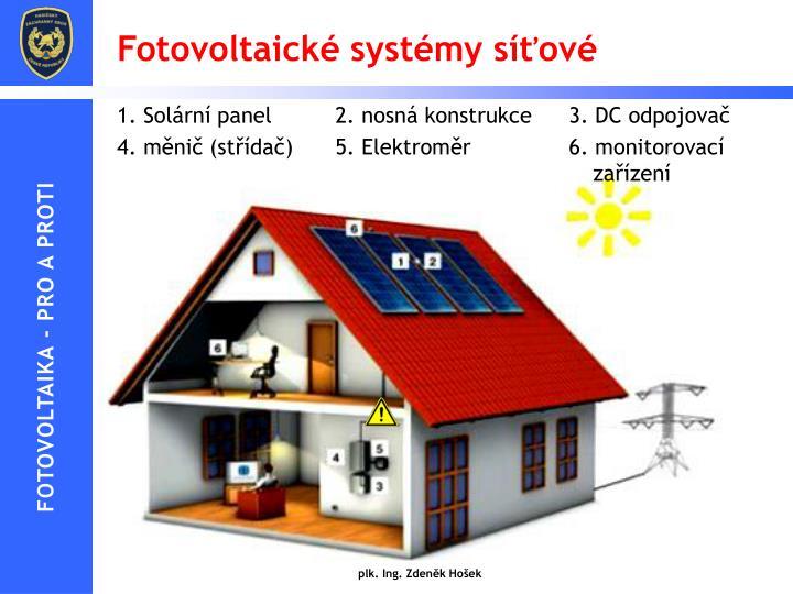 Fotovoltaické systémy síťové