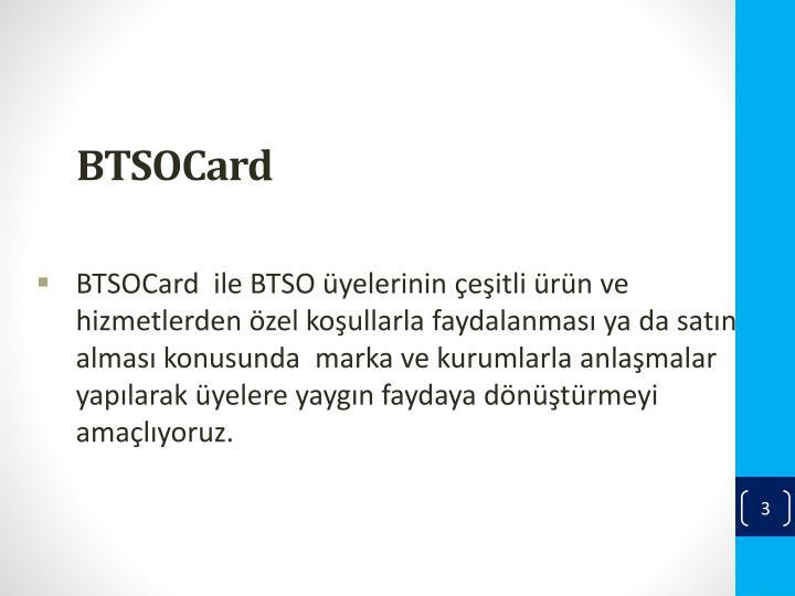BTSOCard