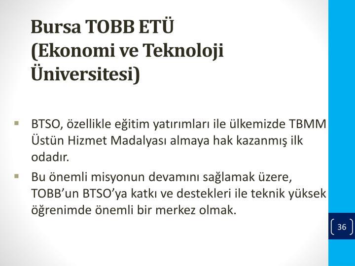 Bursa TOBB ETÜ