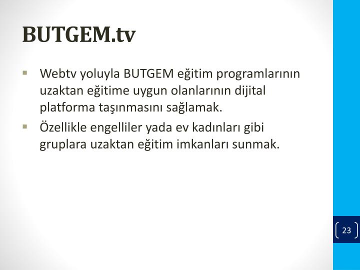 BUTGEM.tv