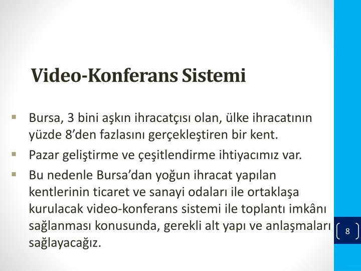Video-Konferans Sistemi