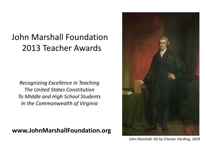 John Marshall Foundation