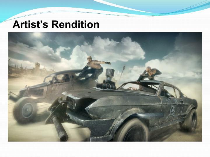 Artist's Rendition