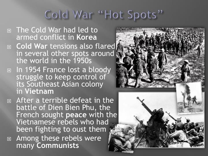 "Cold War ""Hot Spots"""