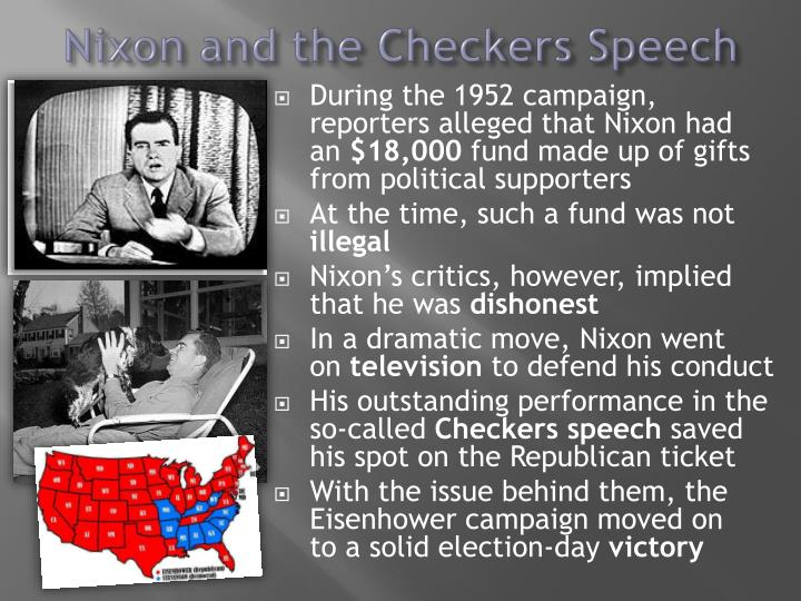 Nixon and the Checkers Speech