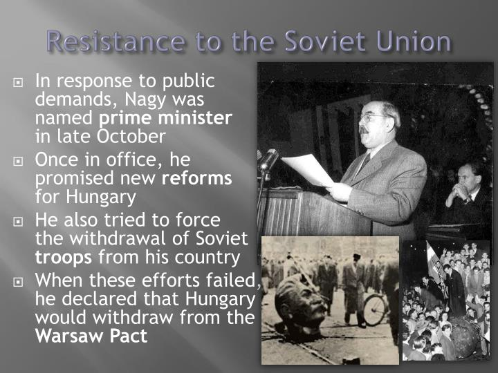 Resistance to the Soviet Union