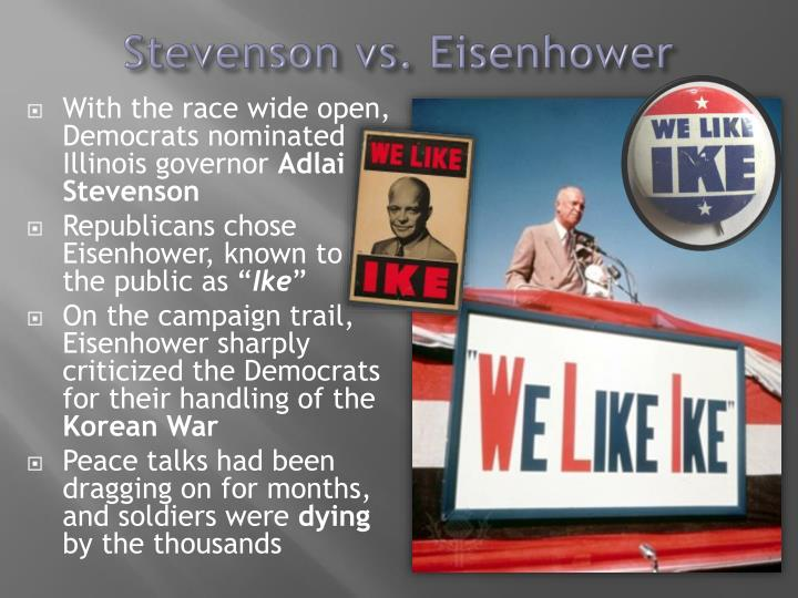 Stevenson vs. Eisenhower