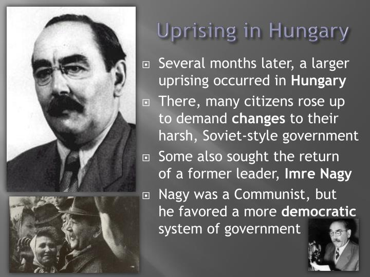 Uprising in Hungary