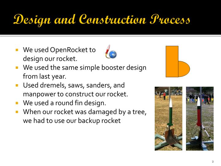 Design and construction process