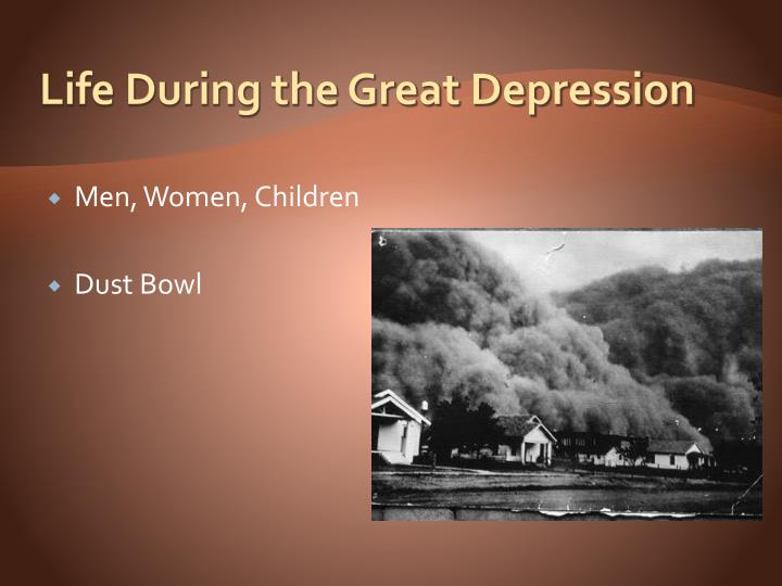 life after the great depression The great depression was an incredibly difficult time for many people keep in mind that many of the relief programs that help people today like unemployment benefits.