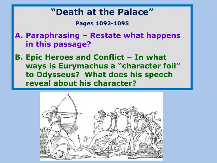 """Death at the Palace"""