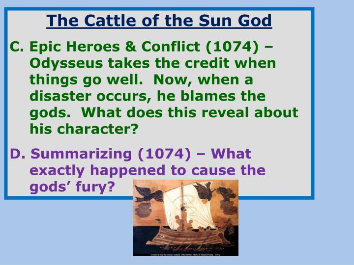The Cattle of the Sun God