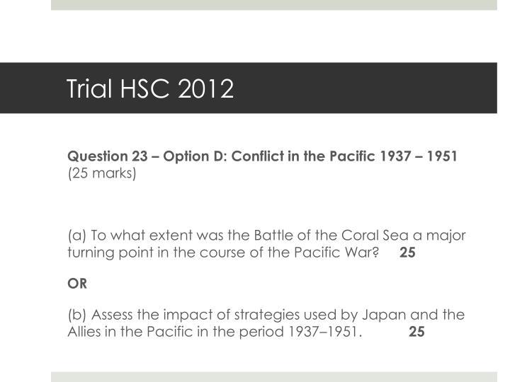 Trial HSC 2012